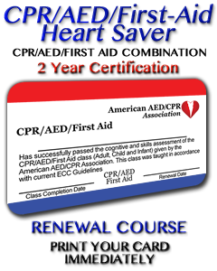 CPR/AED/First Aid Renewal