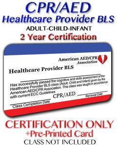 Online Healthcare Provider BLS Certification