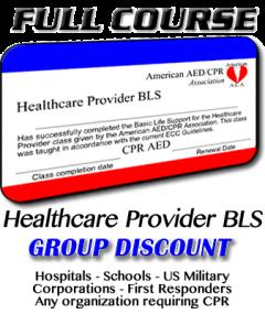 Healthcare Provider BLS Course