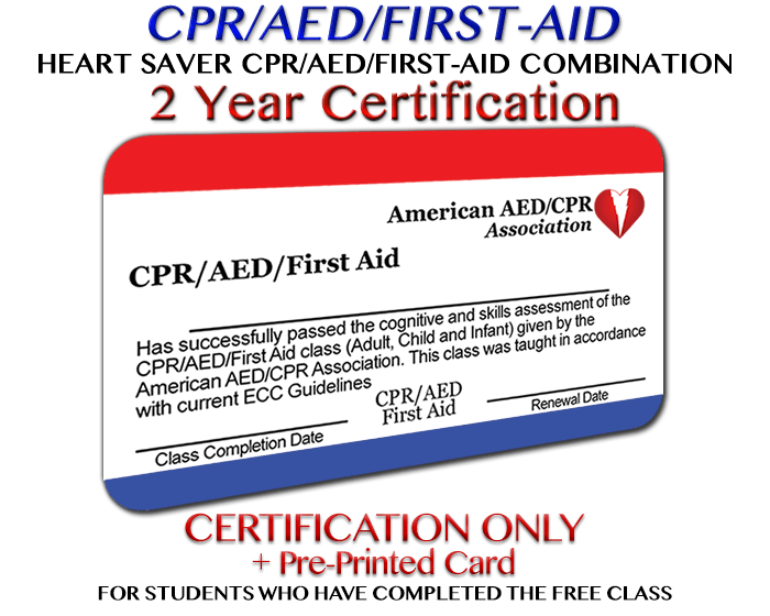 Aedcpr Cpraedfirst Aid Accredited In All 50 States