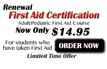 Online First Aid Renewal