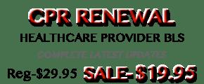 Online CPR Renewal