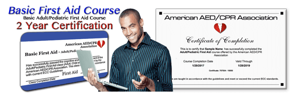 Online First-Aid certification and recertification