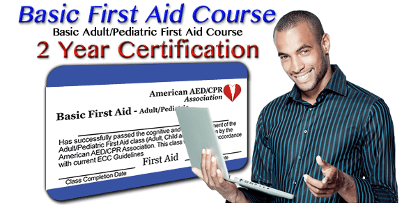 Online First-Aid certification