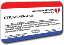 Online CPR, First Aid and AED