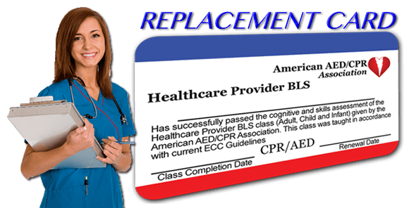Replacement Certification Card